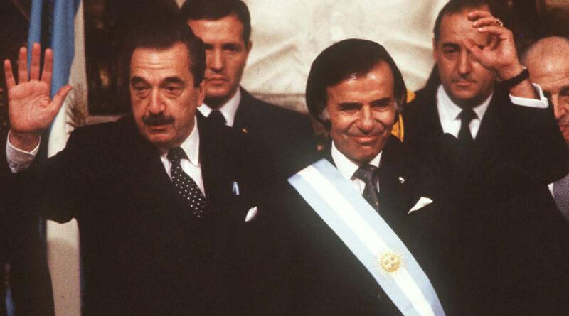 El día que entrevisté al presidente Menem