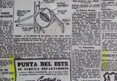 Publicación Diario La Nación de enero 1959